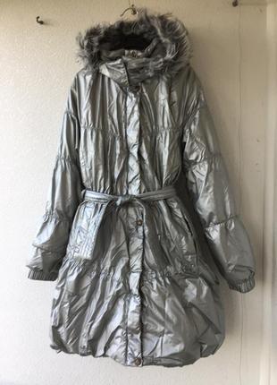 Легендарное зимнее тёплое и лёгкое пальто от lenne на рост 146-158