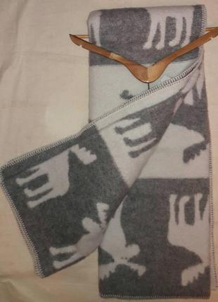 Крутое шерстяное одеяло lana & lino  оригинал1 фото