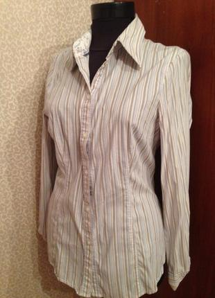 Классическая рубашка в полосочку