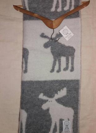 Крутое шерстяное одеяло lana & lino  оригинал2 фото