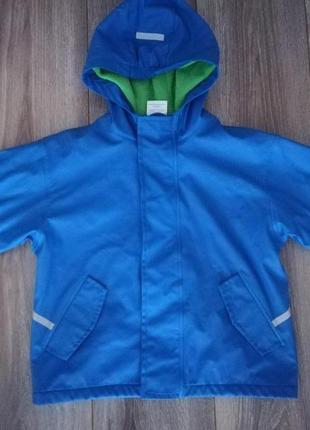 Куртка дождевик на флисе impidimpi 110-120р