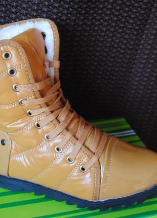 Зимние ботинки польша (38,39)
