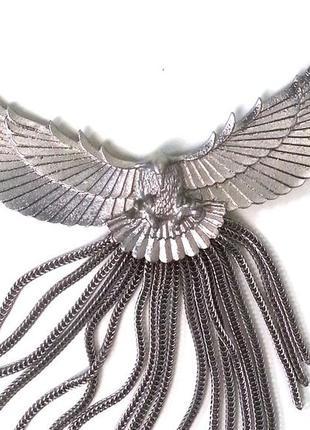 Срочно украшение h&m ожерелье орел
