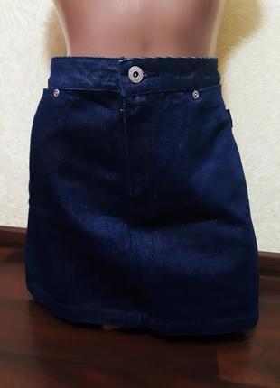Юбка джинсовая  kangol