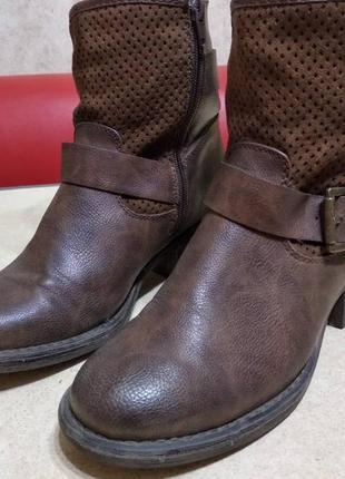 Демисезонные ботинки graceland, 37 р., 24 см. по стельке