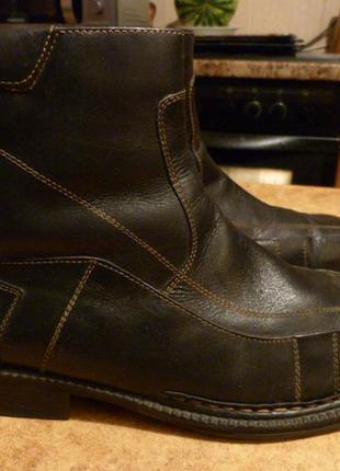 Ботинки - сапоги зима bugatti