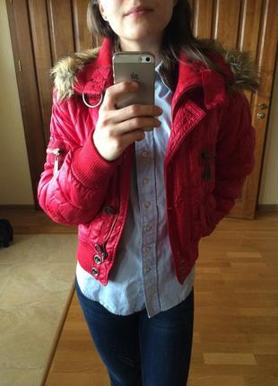 Куртка mexx червона