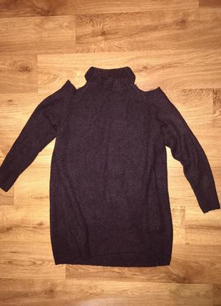 Супер свитер туника new look