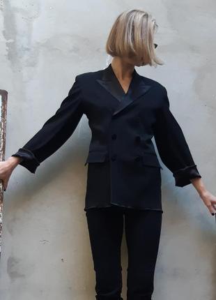 Двубортный пиджак jean paul gaultier