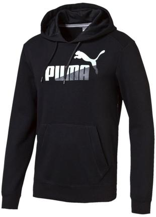 Толстовка puma fun graphic hooded sweat fl р. l, xl  оригинал