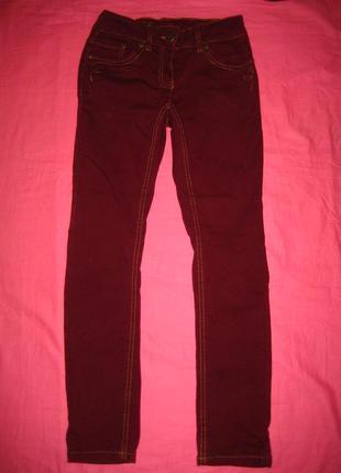 Утепленные джинсы here+there на 10 лет