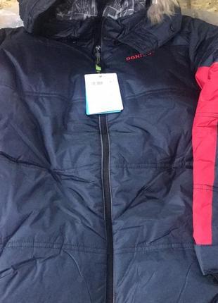 Теплая зимняя куртка donilo для мальчика донило данило3 фото