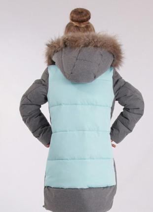 Зимнее пальто для девочки anernuo 171962