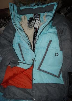 Зимнее пальто для девочки anernuo 171964
