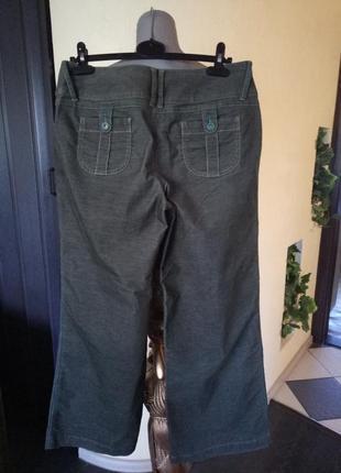 Брендовые стрейчевые кюлоты,широкие брюки 46-48р скидка,качество2
