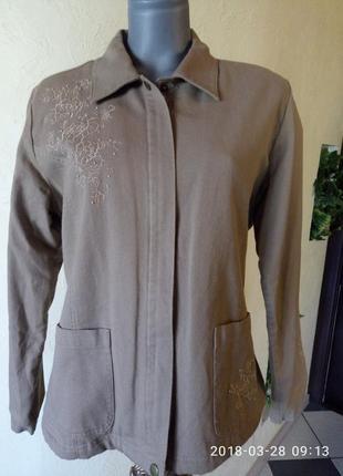 Коттоновая куртка на  утеплителе,48-50р