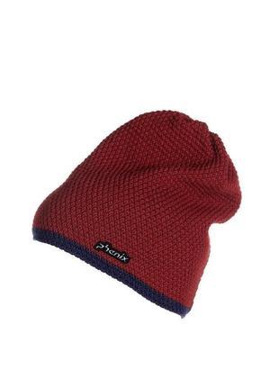 Тёплая шапка на флисе унисекс