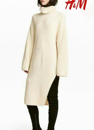 Свитер, платье, бренд h&m. one size.