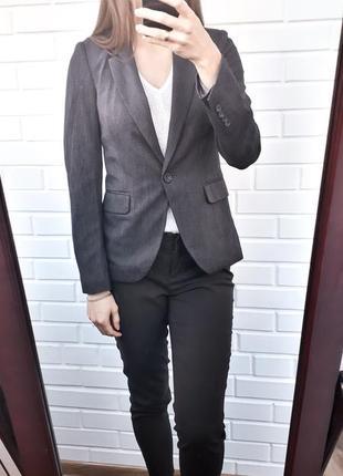 Классический удлиненный пиджак жакет zara