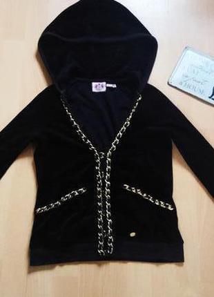 Кофта с капюшоном juicy couture