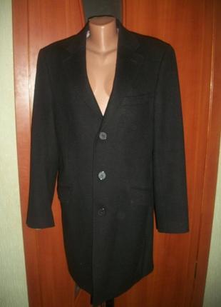 Кашемировое стильное пальто 46-48 размер richter рихтер
