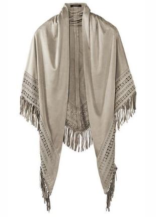 Шаль, платок, накидка,  эффект замши, esmara, германия