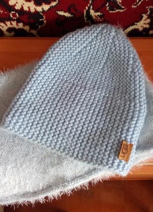 Шикарный комплект! шапка+хомут!