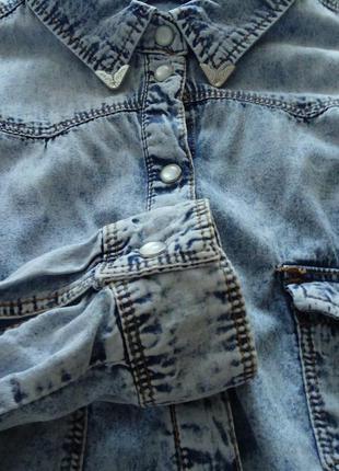 Рубашка джинсова жіноча denim co