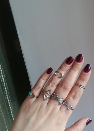 Кольца набор фаланги кольцо фаланга