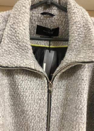 Стильное шерстяное пальто осень-зима!