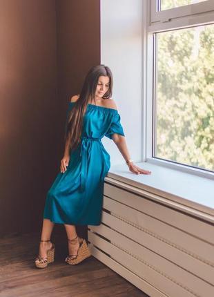 Платье из шелка армани