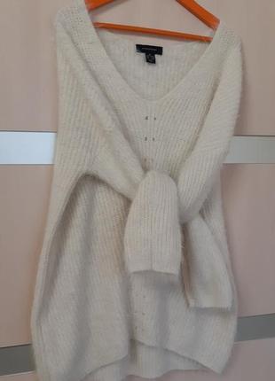 Пушистый объемный свитер atmosphere