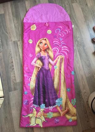 Спальник для девочки , спальной мешок disney