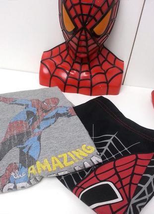 Срочно спайдер мэн человек паук 2 футболки и шорты, комплект, spider man