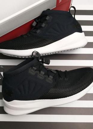 New balance  fresh foam cruz v1оригинал черные беговые кроссовки бренд из сша