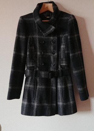 Жакардове пальто осінь next