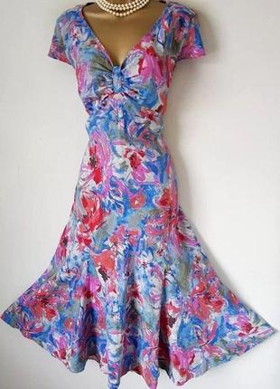 Великолепное льняное платье per una/marks & spencer с сайта asos