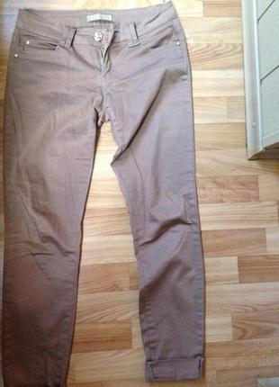 Коричневые джинсы!!!