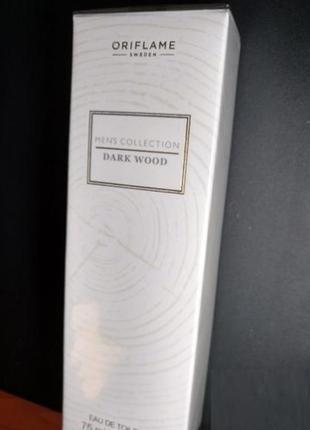 Туалетная вода men's collection dark wood