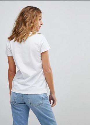 Asos футболка отличное качество 100% хлопок, страна- изготовитель мавритания