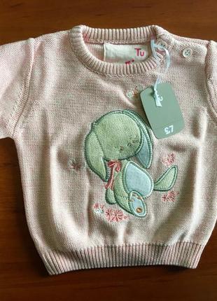 Очень мягкий свитерок зайка для зайки ;)