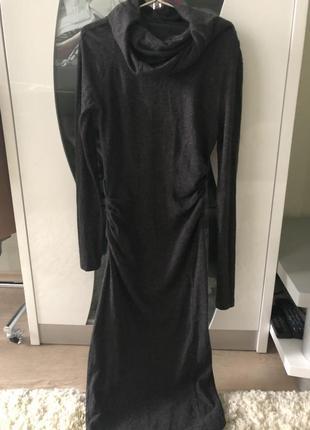 Роскошное платье миди в составе ангора