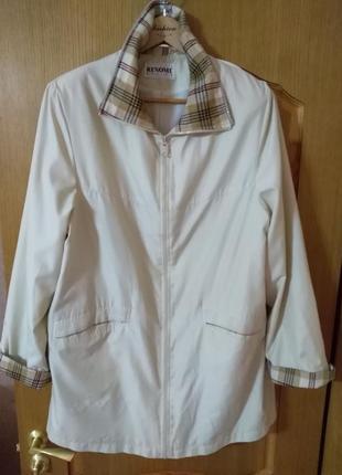 Размер 58 легкая куртка