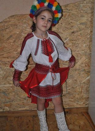 Платье с вышивкой (3 образа)