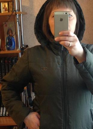 Зелёная курточка