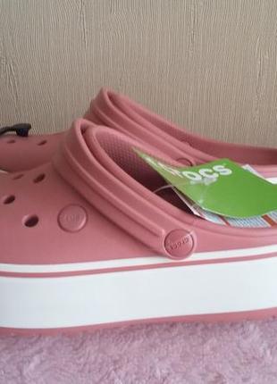 Crocs crocband platform. оригинал!