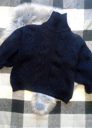 Cos свитер альпака шерсть оверсайз