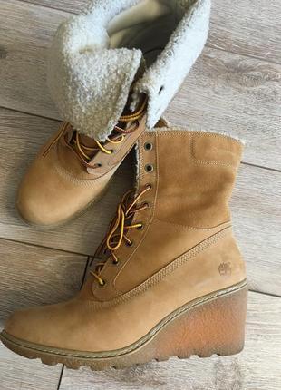 Timberland оригинал ботинки на танкетке
