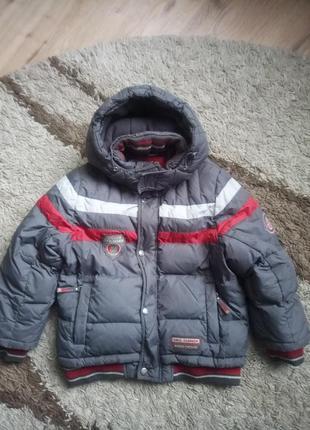 Куртка кіко зима на зріст 128см