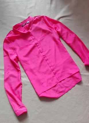 Шифоновая рубашка ярко розового цвета / блуза от esmara